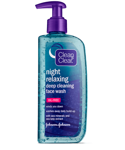 Night Facial Cleanser for pimples